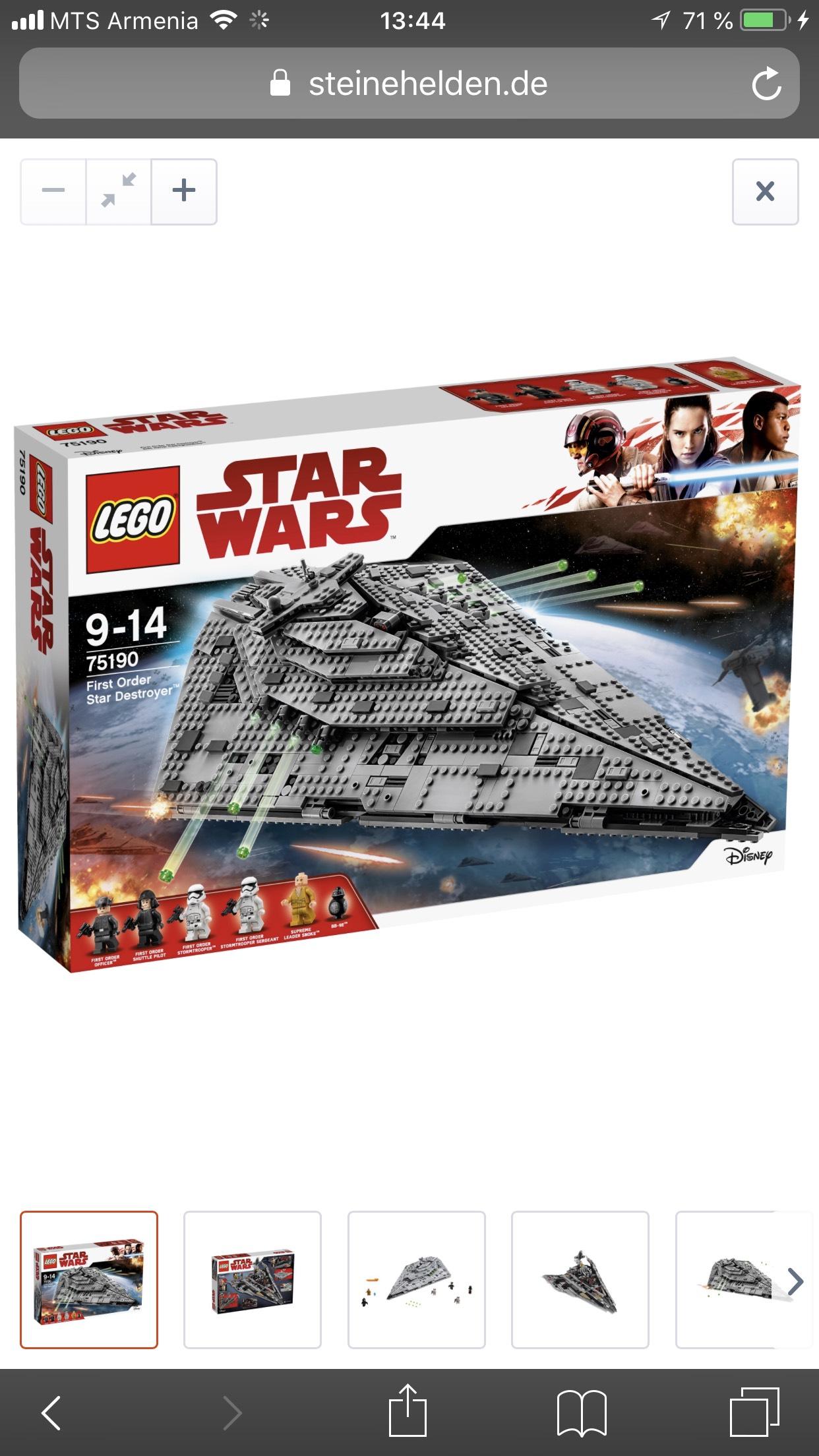 LEGO® Star Wars 75190 First Order Star Destroyer™