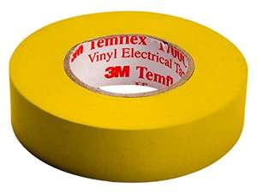 [AMAZON Plusprodukt] 3M TGEL1510 Temflex 1500 Vinyl Elektro-Isolierband, 15 mm x 10 m, 0,15 mm, Gelb