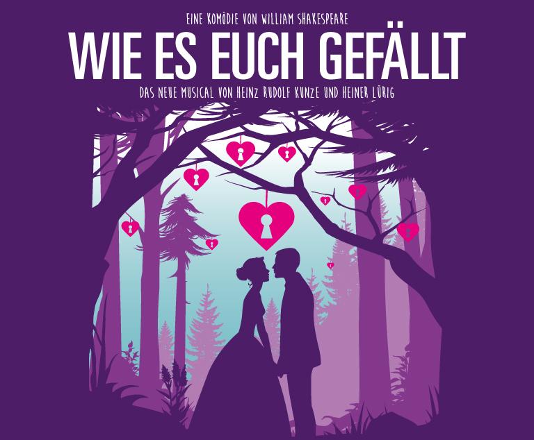 """[Lokal Hannover] """"Wie es euch gefällt"""" H.R. Kunze Musical Tickets 10% günstiger"""