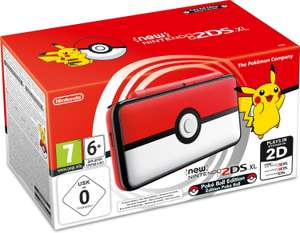 Nintendo New 2DS XL Pokeball Edition für 111,27€ (Amazon ES)