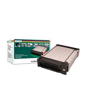 DIGITUS Premium SATA-Festplattenwechselrahmen, grau/schwarz