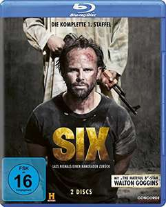 Six - Die komplette 1. Staffel (Blu-ray) für 11,97€ (Amazon Prime)