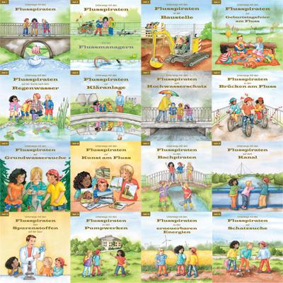 """Minibuchreihe """"Unterwegs mit den Flusspiraten"""" downloaden - Einzelexemplare kostenlos bestellen"""