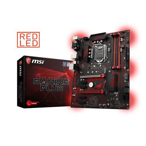 MSI Z370 GAMING PLUS Intel Z370 So.1151 Dual Channel DDR4 ATX Bulk