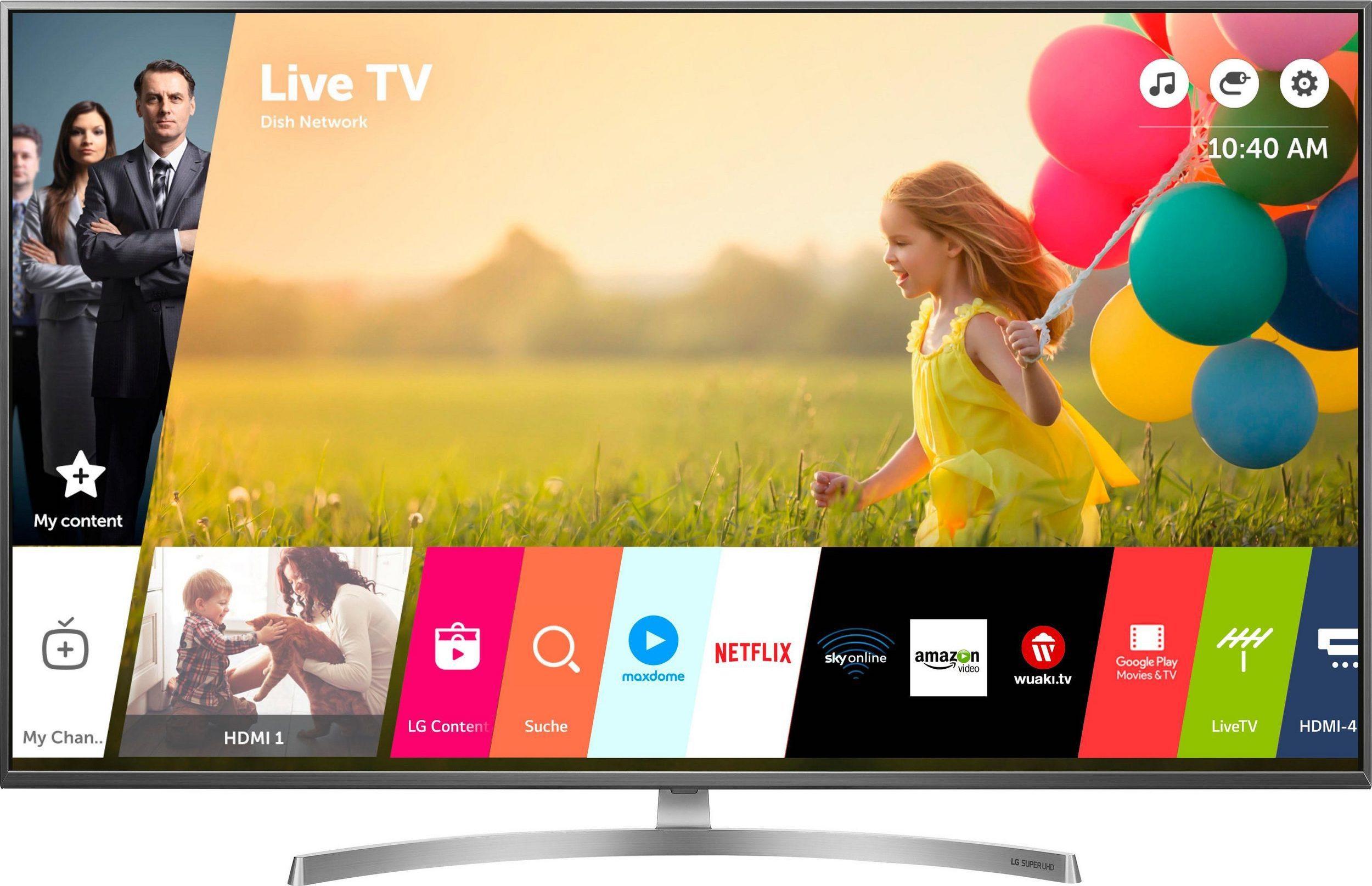 """Tagesdeals von Notebooksbilliger - LG 55SK8100 55"""" 4K UHD TV für 907,99€ (HDR10 + Dolby Vision, 100Hz nativ, 10Bit-Panel), WD My Cloud NAS Home Duo 12 TB für 279,99€"""