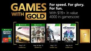 (Games with Gold August) Forza Horizon 2 (Xbox One), For Honor (Xbox One), Dead Space 3 (Xbox One/Xbox 360), Disney Micky Epic 2: Die Macht der Zwei (Xbox One/Xbox 360)