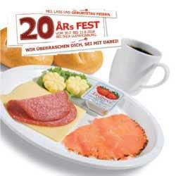 Gratis Frühstück, 5€ Aktionskarte und Gratis Geburtstags Törtchen (Lokal Ikea Ludwigsburg) (Ikea Family)