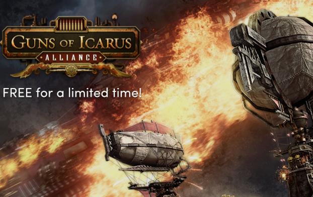 GUNS OF ICARUS ALLIANCE (Steam) kostenlos im Humble Store