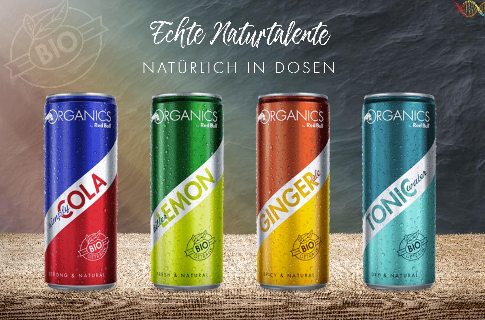 Red Bull Organics für nur 69 cent bei netto