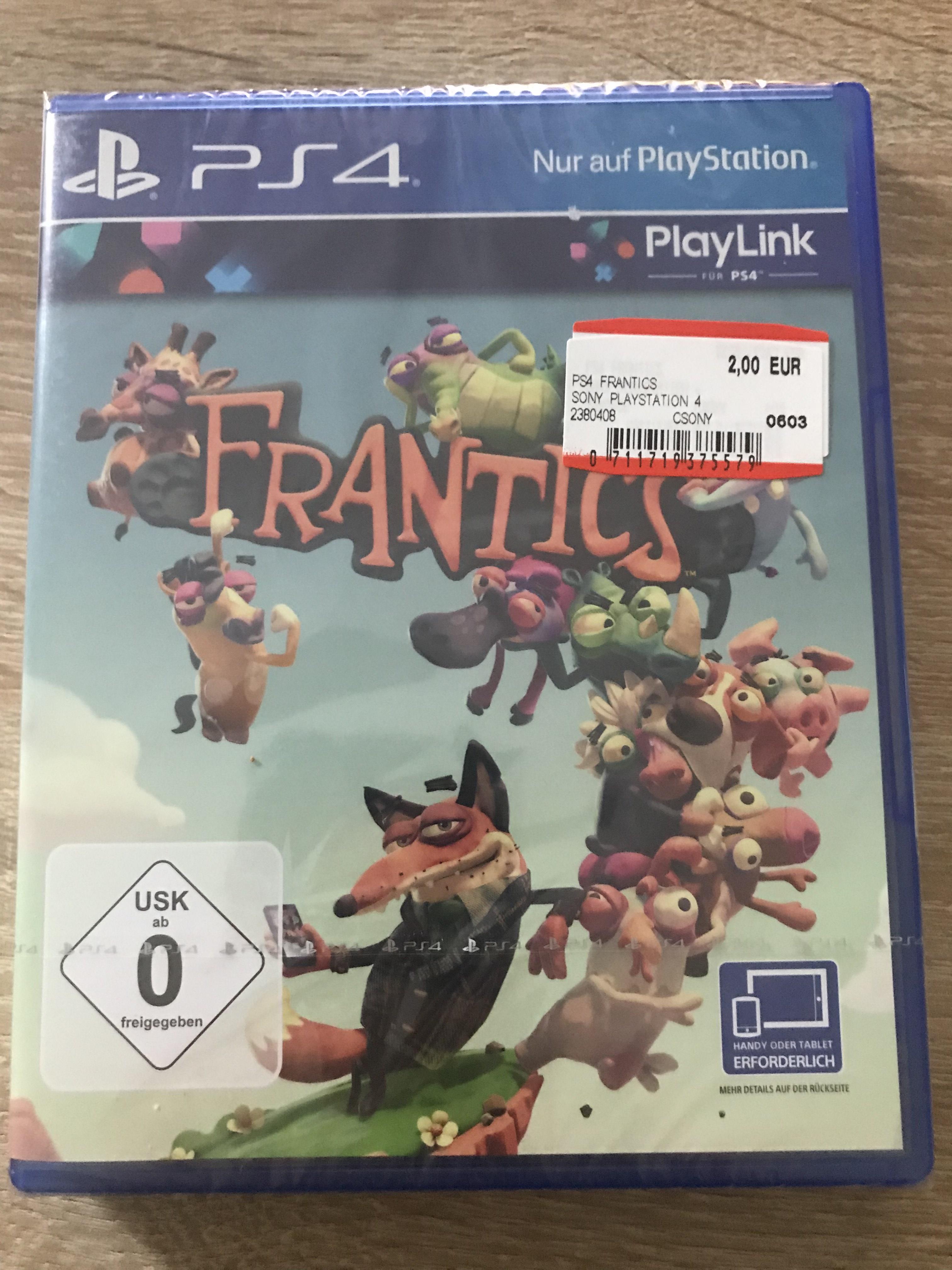 Mediamarkt Spandau Lokal Berlin PlayStation 4 PS4 Frantics Singstar Thats You