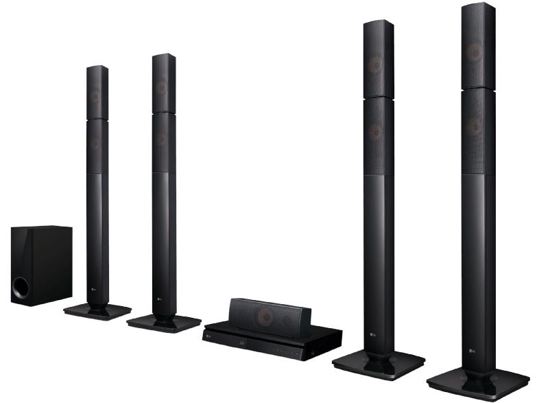 [Mediamarkt] LG LHB655N Heimkinosystem (3D Bluray Player, DLNA, Smart TV, Bluetooth, 1000 W, 5.1 Multiroom Soundbar) Schwarz für 149,-€