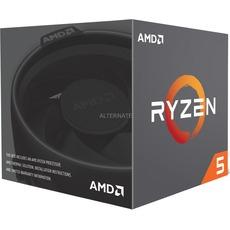 AMD Ryzen 5 2600, 6x 3.40GHz, boxed mit Kühler [Alternate+Masterpass]