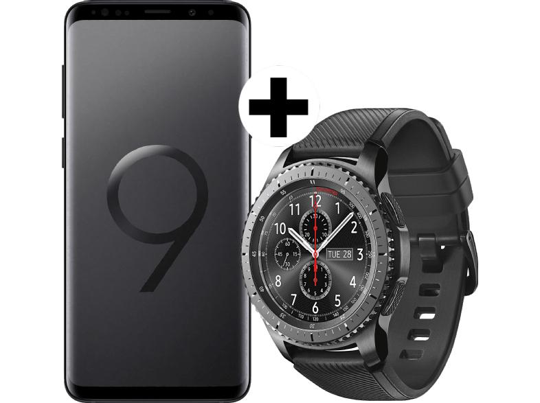 [MediaMarkt.at über DA-Packs] SAMSUNG Galaxy S9+ Duos Midnight Black + Gear S3 Frontier Space Gray
