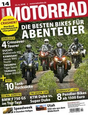 3 Monate Motorrad für 31,85€ mit Verrechnungscheck in gleicher Höhe