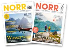 2 Ausgaben des NORR Magazin geschenkt (Kündigung notwendig; per Mail machbar)
