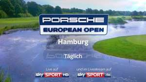 Golf: Porsche European Open 2018 im Livestream