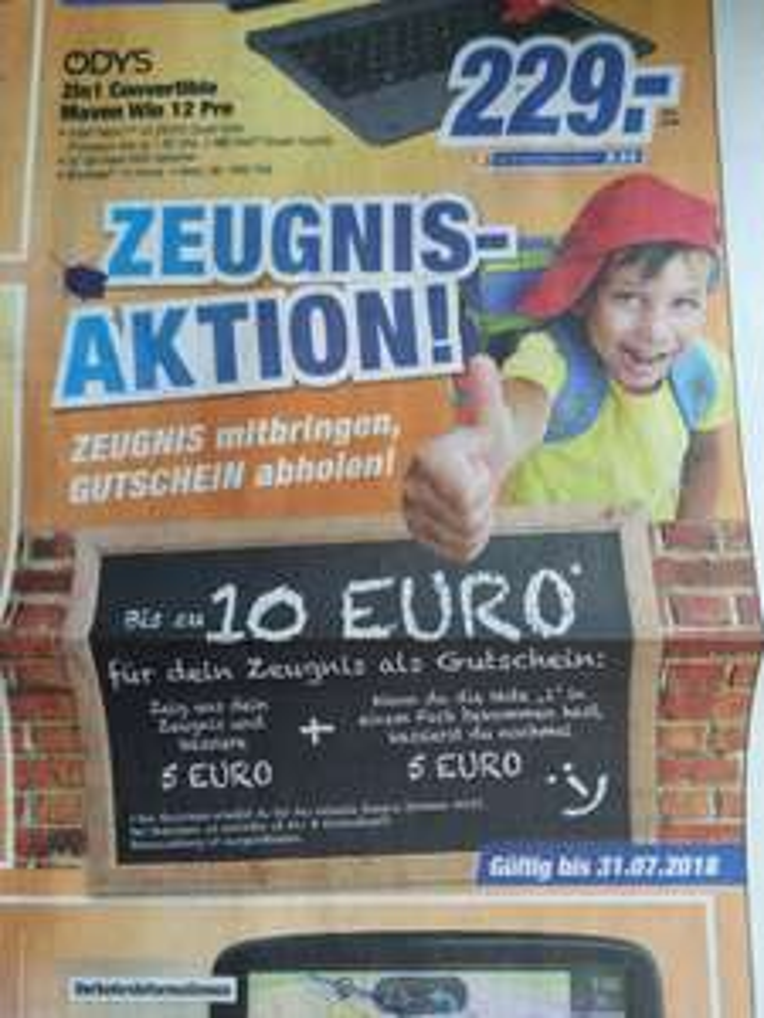 [Lokal Bayern] expert Tevi Zeugnisaktion 10€ Gutschein bei 20€ Einkaufswert