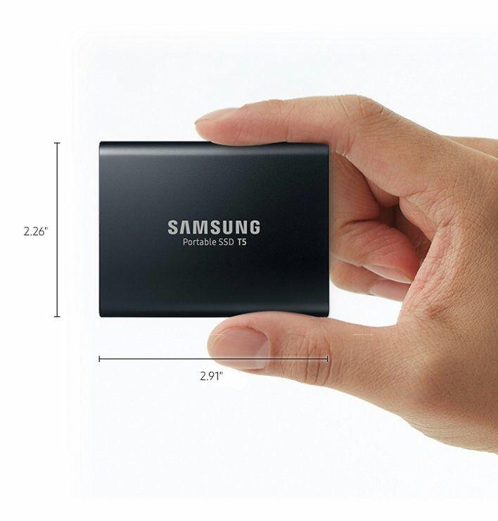Samsung T5 Portable SSD - 1 TB, USB 3.1, Typ-C (Amazon.it)
