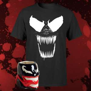 Marvel Villainous Venom Bundle T-Shirt + Tasse
