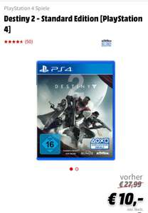 [Media Markt Eisenach - Lokal] Destiny 2, Star Wars Battlefront 2 und cod infinity warfare für je 10€