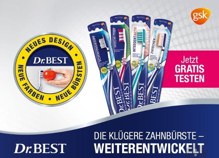 Dr. Best Zahnbürste GRATIS TESTEN