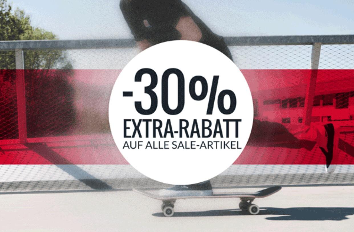 SKATEDELUXE Sk8 30% auf alle Sale Artikel