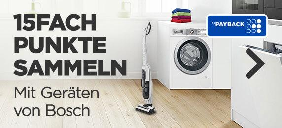 Bosch Serie 6 WAT28641 Waschmaschine 8 kg i-DOS 15-Fach Payback auf Bosch Geräte