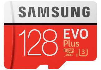 [Mediamarkt] Samsung microSDXC Speicherkarte EVO Plus 128 GB mit SD Adapter für 29,-€ // 64GB für 19,-€