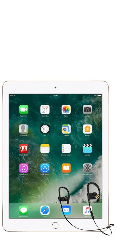 Apple iPad 2017 32GB +  Powerbeats 3 mit 10GB LTE im Telekom Netz bei MediaMarkt