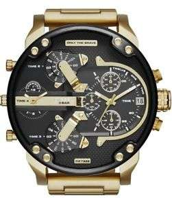 Diesel Herren Uhr DZ7333 XL Mr Daddy 2.0 Gold-Ton