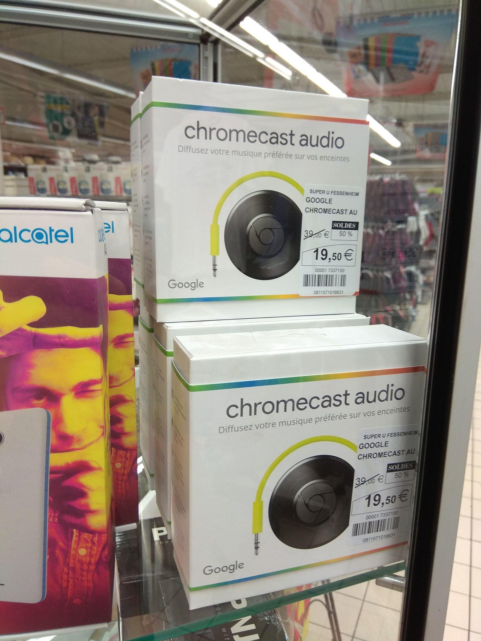 [Lokal Fessenheim Frankreich] Chromecast Audio im Super U