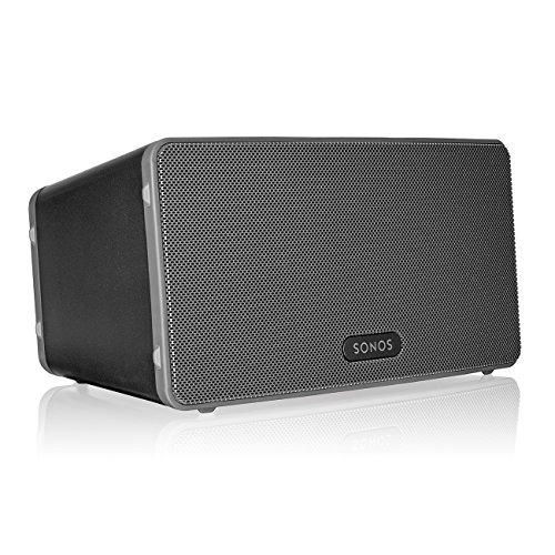 Sonos PLAY 3 - Multiroom-Lautsprecher, 3 integrierte Verstärker in 2 Farben für je 199,-€ [Amazon]