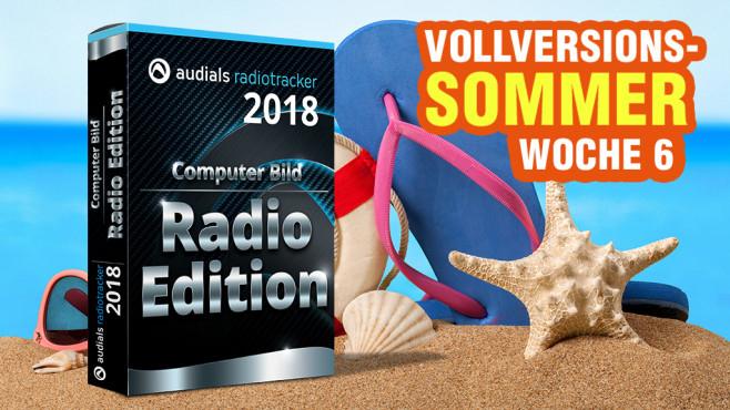 Audials Radiotracker 2018 als kostenlose Vollversion