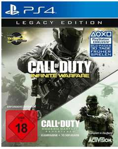 [Lokal] Saturn Augsburg in der City Gallerie: Call of Duty Infinite Warfare Legacy Edition für PS4 für 10 €