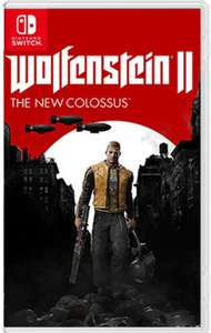 "Wolfenstein II: The New Colossus (Switch) für 43,64€ (ShopTo) ""UNCUT"""