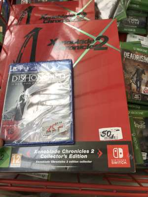 (Lokal Augsburg göggingen) Media Markt Mortal kombat xl 9,99€ / xenoblades collectors edition 50€