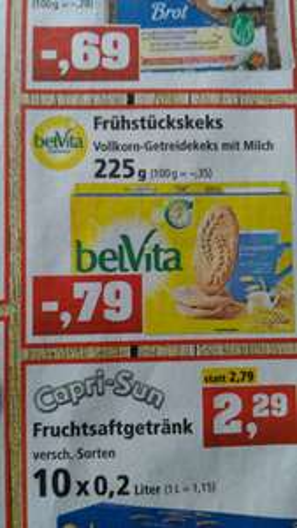 [Thomas Philipps] Belvita Frühstück Cerealien & Milch Kekse für 0,79€
