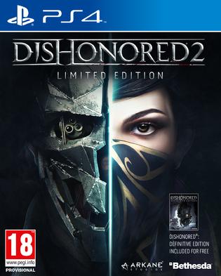 Dishonored 2: Das Vermächtnis der Maske Limited Edition (inkl. Dishonored Definitive Edition) (PS4) für 11,20€ (ShopTo)