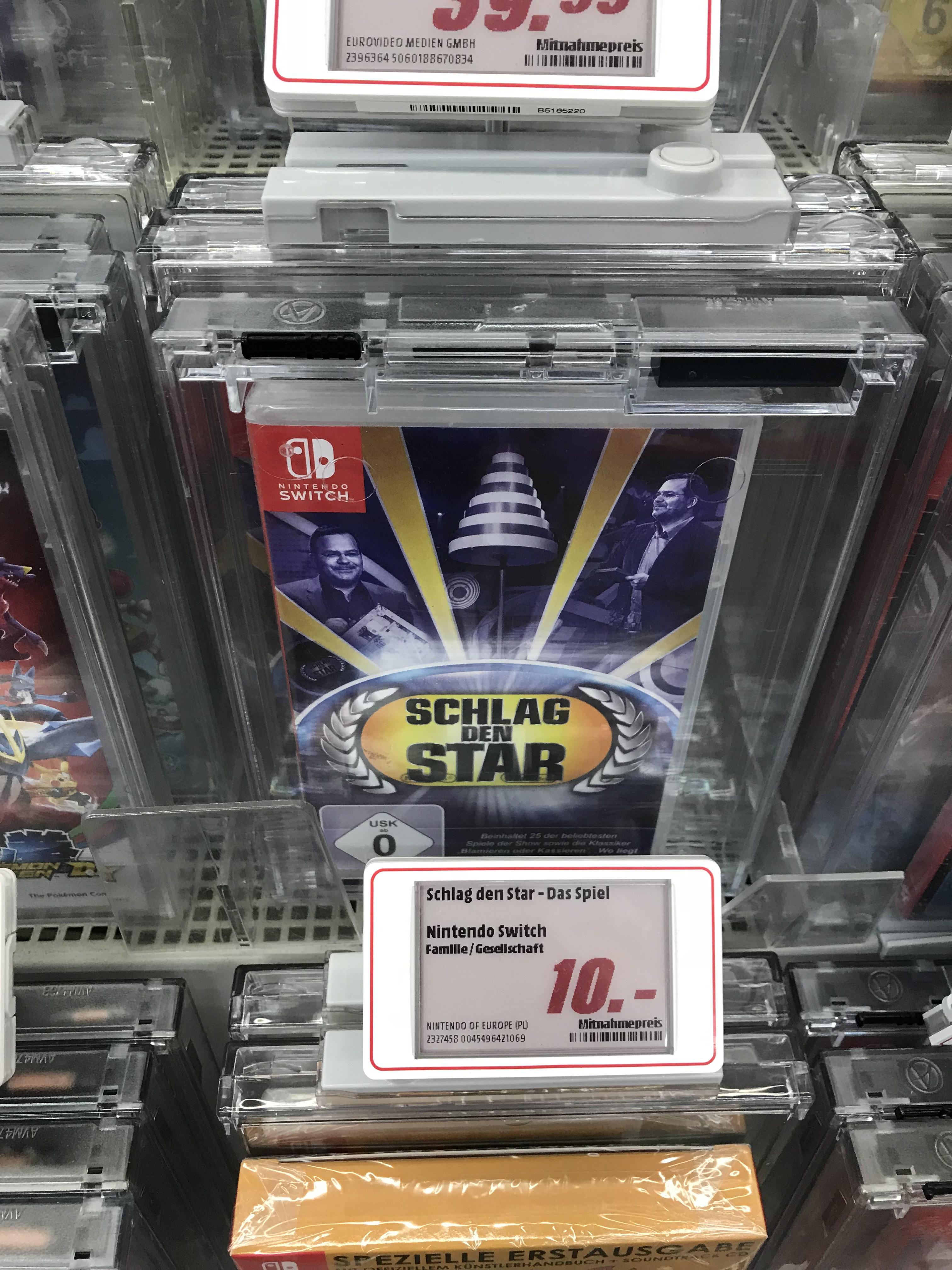 [LOKAL Karlsruhe] Schlag den Star Nintendo Switch 10 €