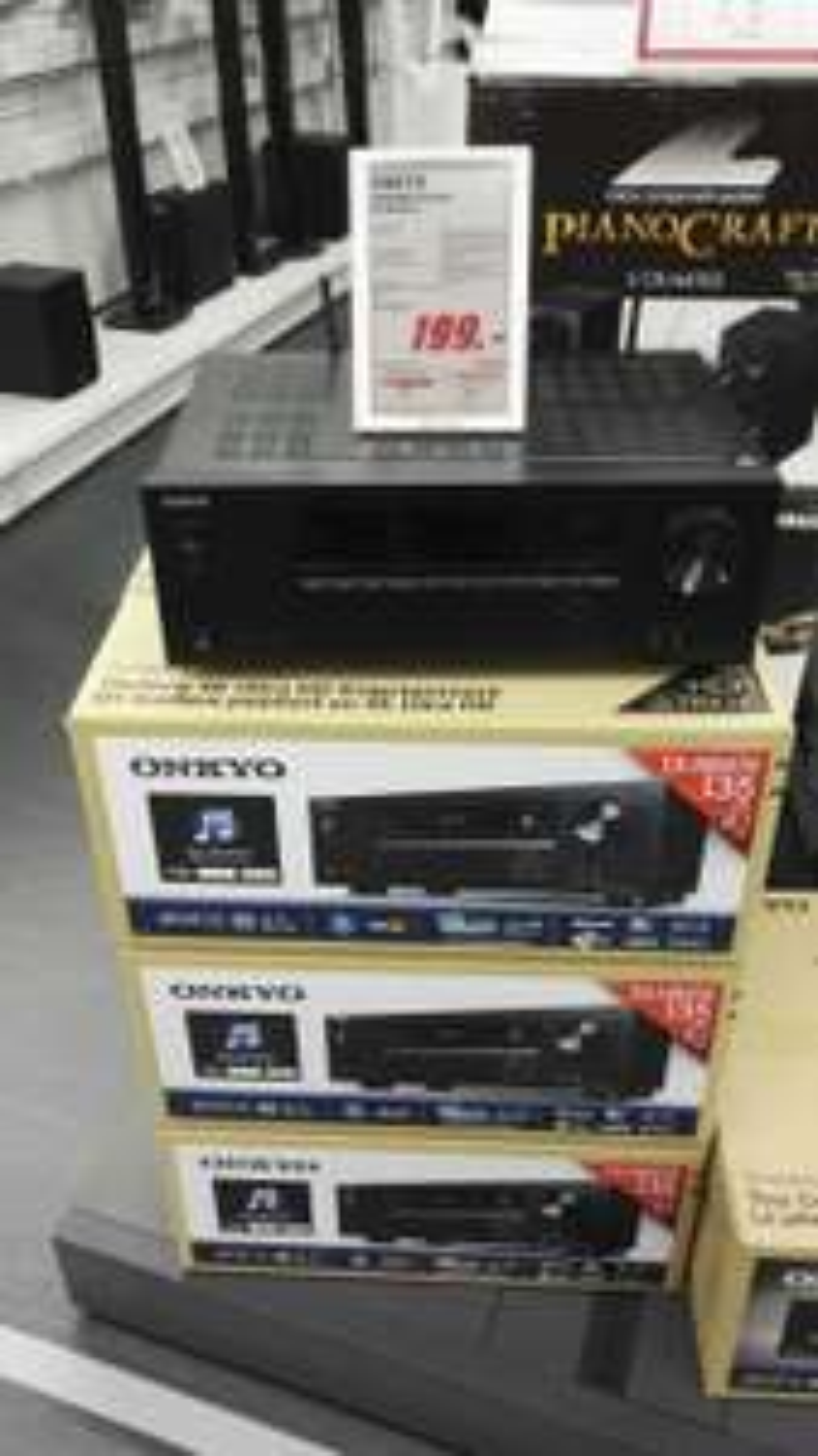Onkyo TX-NR474 AV Receiver AVR 5.1 schwarz (lokal Ludwigsburg) [MediaMarkt]