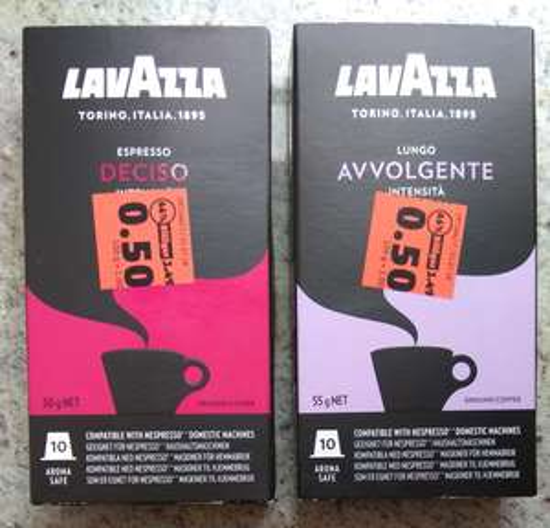 [Penny Wöllstein] Lavazza 10er Nespresso Kapseln Abverkauf