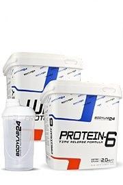 4kg Protein-Mix (2kg Whey + 2kg 6K + z.B. Shaker) für 48,89€ (Bodylab24)