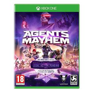 Agents of Mayhem Day One Edition (Xbox One) inkl. Legal Action Pending DLC für 6,99€ (Shop4DE)