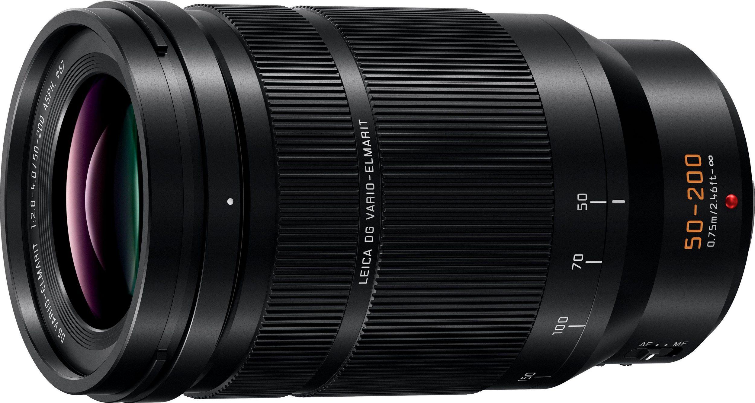 Panasonic Leica DG Vario-Elmarit 50-200 mm f2.8-4 ASPH. Mft Objektiv Lumix