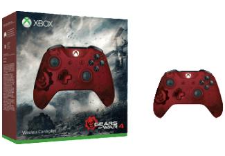 Microsoft Xbox Wireless Controller Gears of War 4 Crimson Omen Limited Edition inc. DL Code für Games Halo 5 und State of Decay 2 für 39,-€ [Saturn]