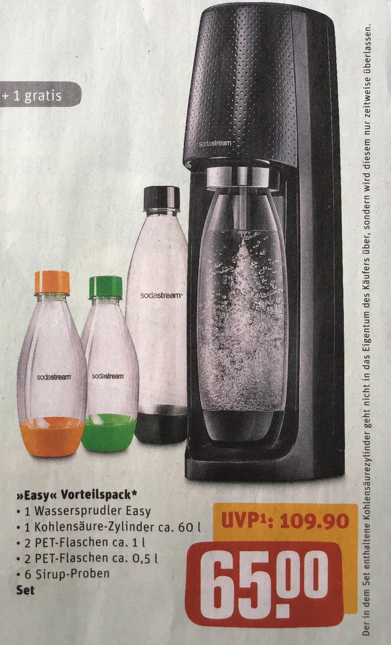 SodaStream >>Easy<< Vorteilspack