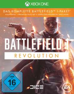 Battlefield 1: Revolution (mit Premiumpass, etc.) (Xbox One) für 19,99€ [Saturn]
