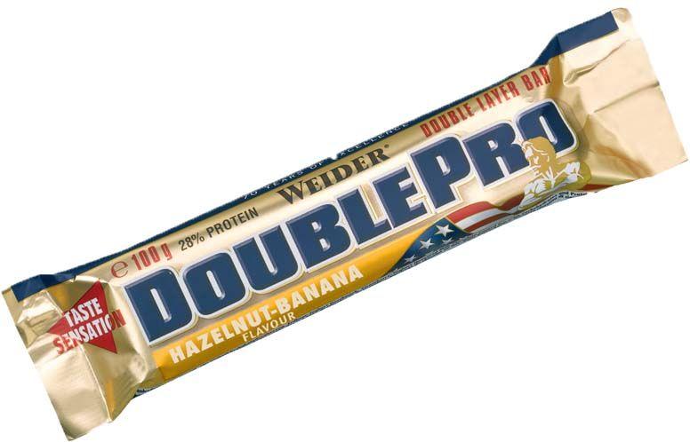 24x Weider Double Pro Protein Bar 100g um 50% reduziert.