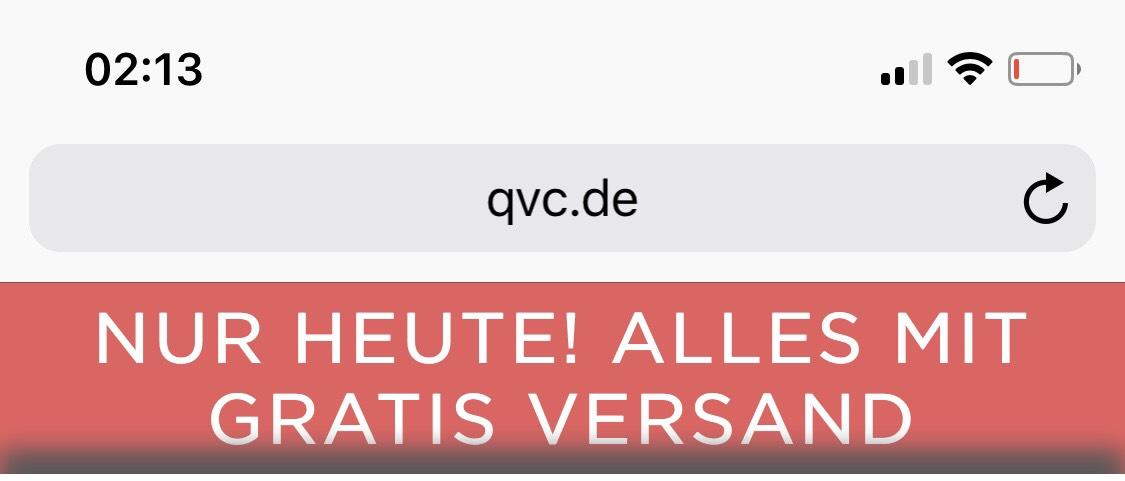 Heute Qvc Versandkostenfrei bestellen(gesamtes Sortiment)