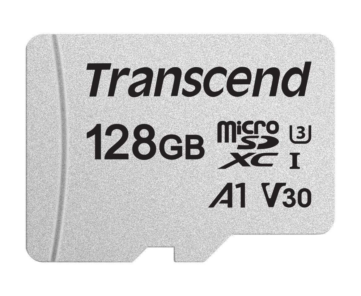 Transcend 300S MicroSDXC 128GB, UHS-I U3, A1, Class 10 (TS128GUSD300S) für 28,07€ (MyMemory)